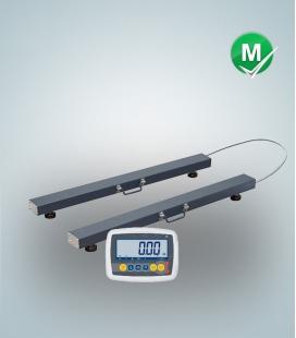 K2-ZEBRA - Barras de pesagem